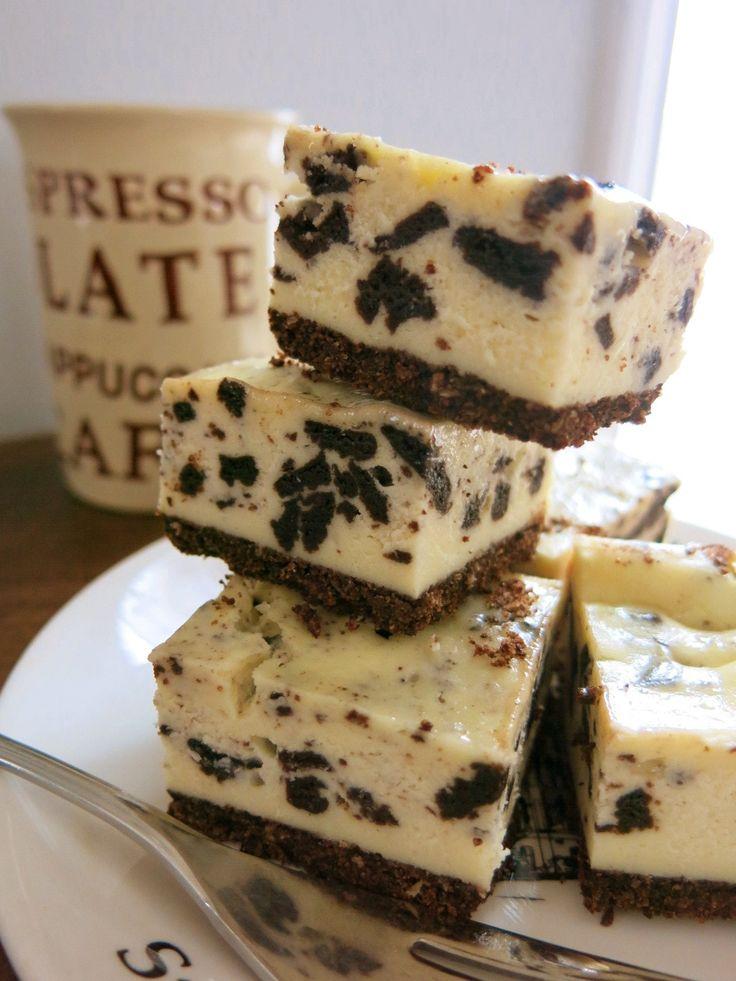 オレオ・チーズケーキ・バー - ミセスNewYorkの食卓