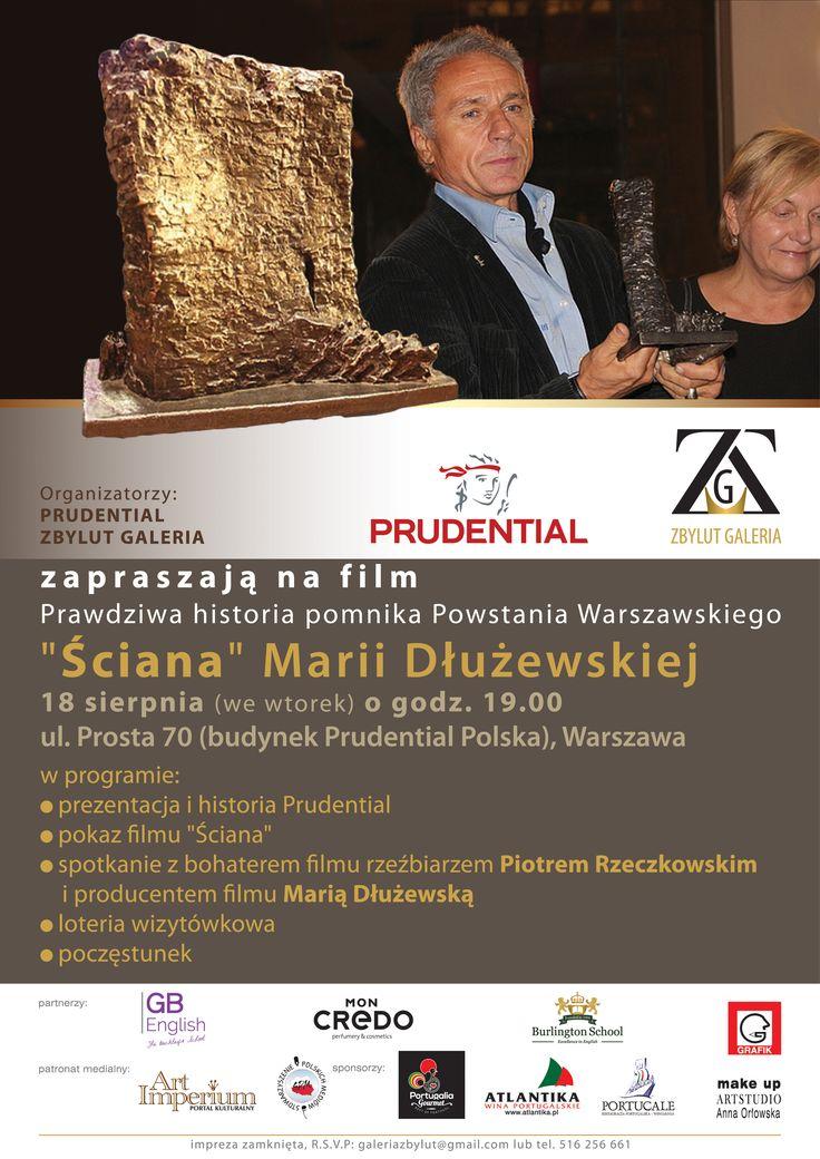 Prawdziwa historia pomnika Powstania Warszawskiego – film pt. Ściana - Marii Dłużewskiej