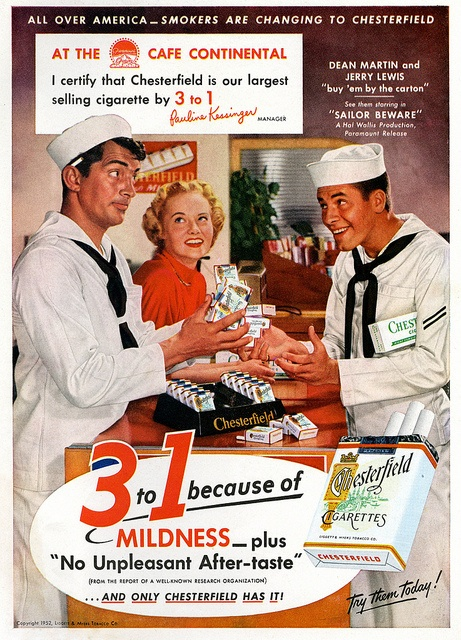 Chesterfield Cigarettes with Dean Martin and Jerry Lewis