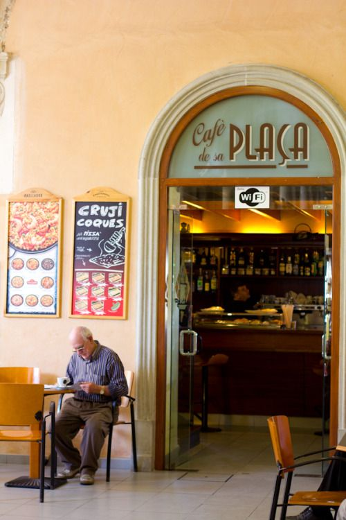 Au Café de la Plaça (Mahon, Minorque)