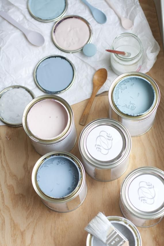Autentico Chalk Paint - amazing stuff! Giving my dining chairs a Deep Blue + dark wax makeover any day soon...