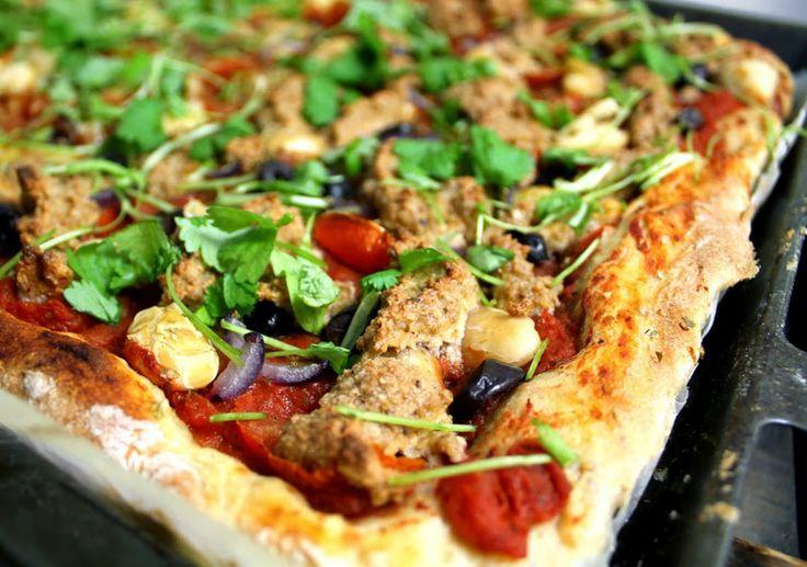 Pizzadeig med potet - VeganMisjonen | Oppskrifter på Veganmat og Vegetarmat
