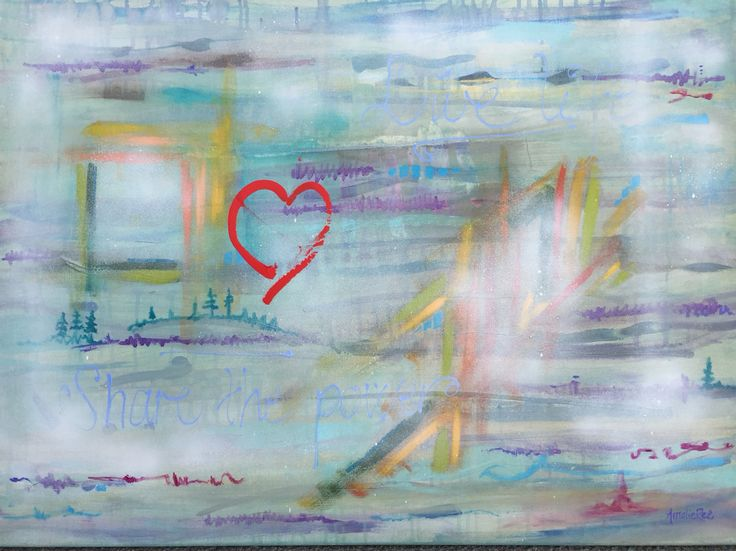 Live life | painting - Amalie Ree
