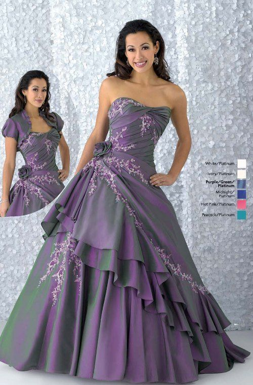 Perfect Ball Gown strapless Prom Dress 2010 Spring by Quinceanera1