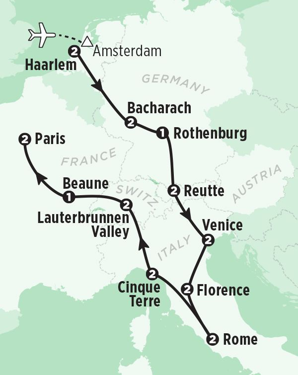 Best European Tour Package: 21 Days in Europe   Rick Steves 2017 Tours