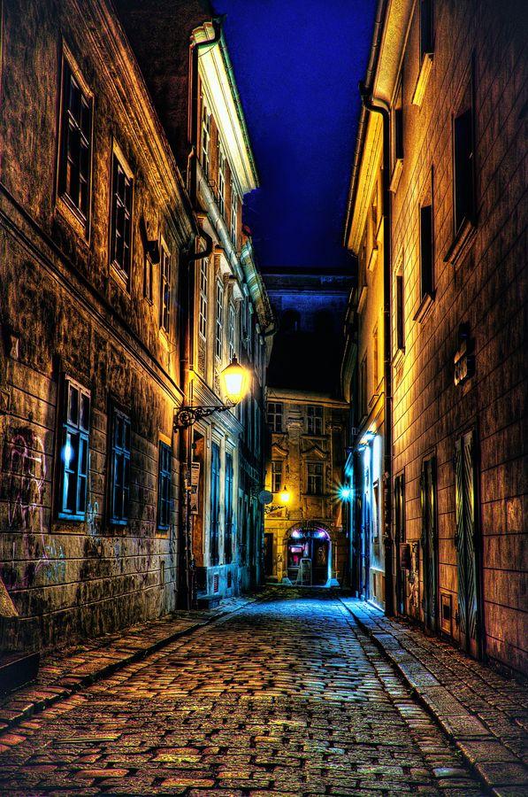 The old town by Marek Ševc, via 500px