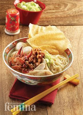Mie Kepiting Pontianak (Pontianak Crab Noodle)