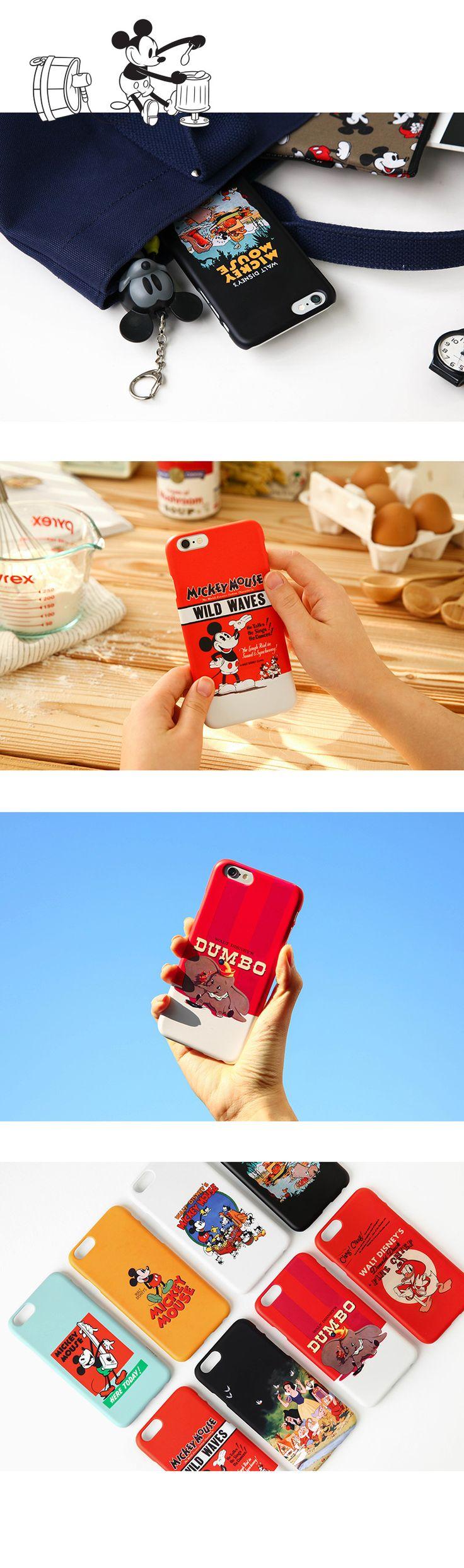텐바이텐 10X10 : [Disney]Vintage Mickey_아이폰6/6S 케이스