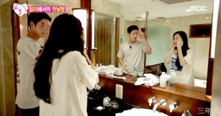 Washing their faces together :'3 #young #love #adorable #jjongah #love #jjong #yura #hongjonghyun #kimyura #girlsday #wegotmarried #wgm
