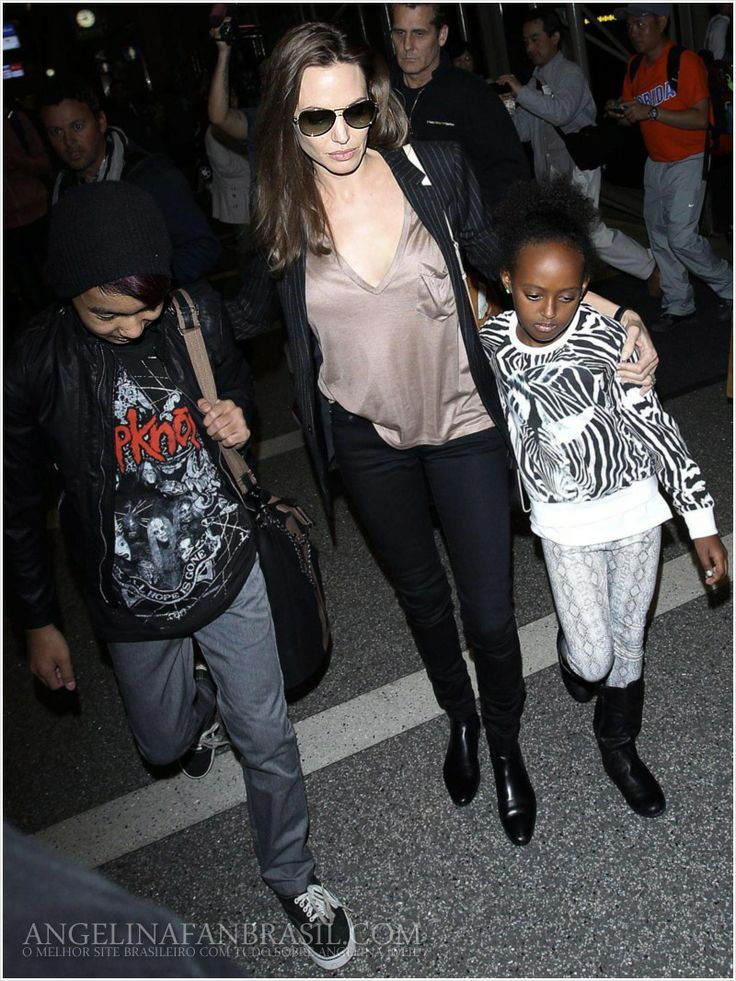 Angelina Jolie Voight is born 4 June 1975. She is a american actor, film director and script writer. Angelina is married to Brad Pitt. They have tree biological children and three adopted. Angelina are donating many money to the poor countries, and help children's.