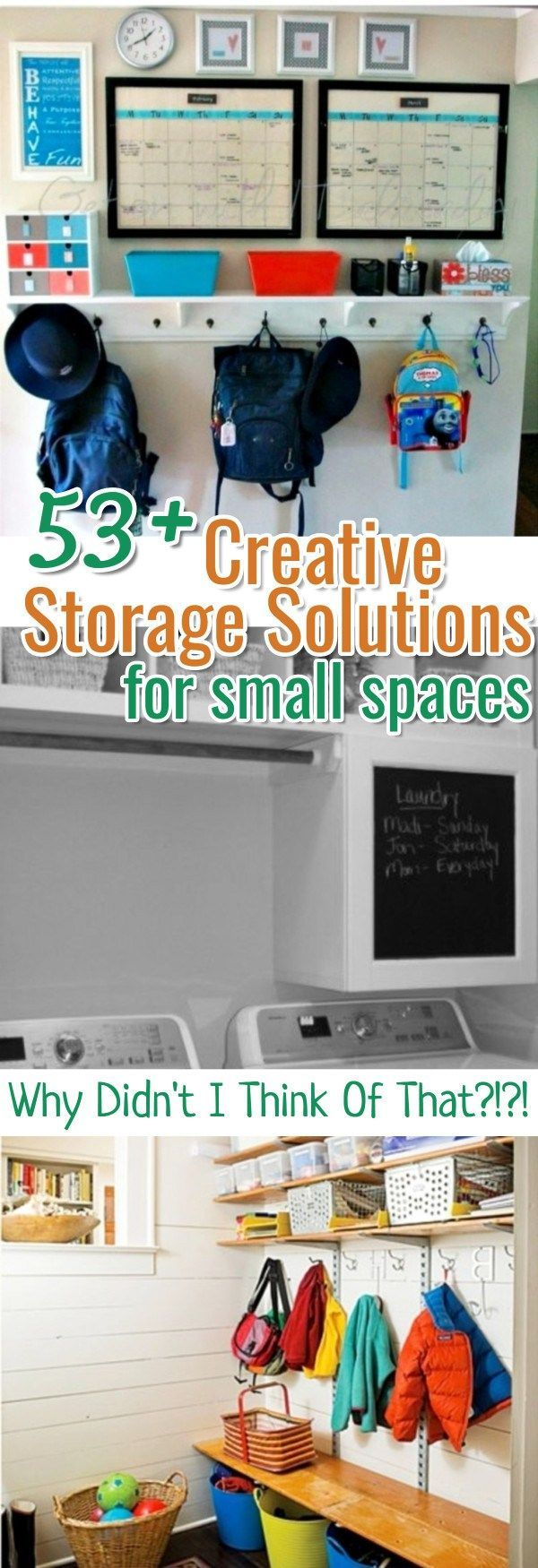 DIY storage ideas for small spaces - create small space hacks