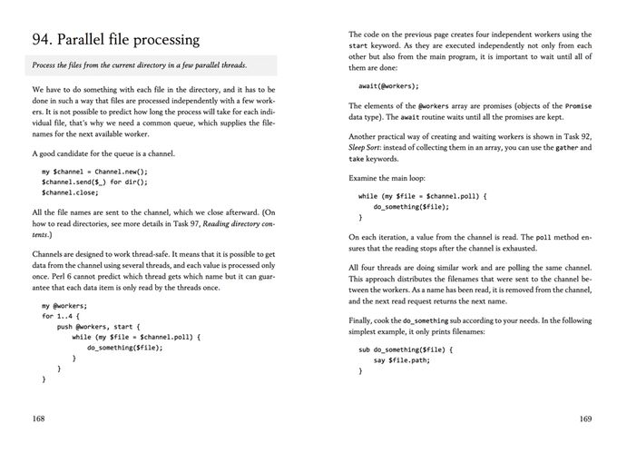 An excerpt from Using Perl 6