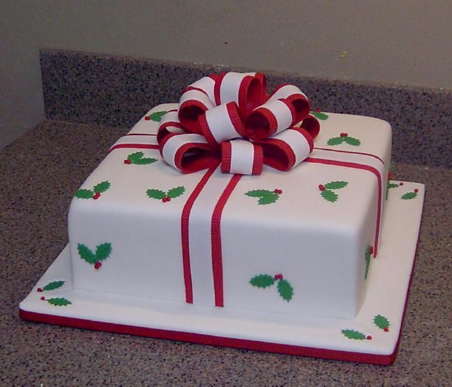 Cake Decorating Designs Christmas : 38 best christmas cakes images on Pinterest Christmas ...