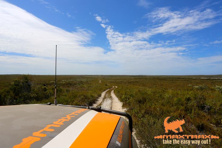 MAXTRAX travelling through Cape Arid, Western Australia. Only for the toughest, it is essential you are fully prepared for remote outback travel - MAXTRAX are essential.