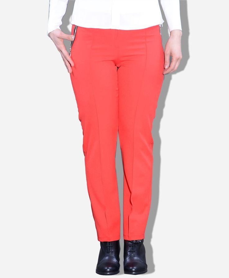 Cebi Fermuarlı Pantolon - SG591K