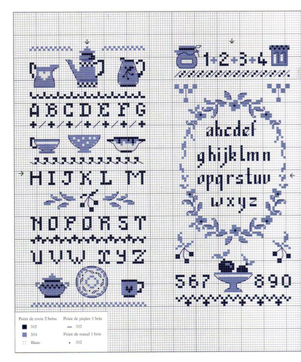 Gallery.ru / Фото #1 - Abecedaires au point de croix - Enginger - patrizia61