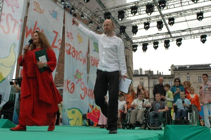 Festiwal Zaczarowanej Piosenki 2007 #zaczarowana scena Anna Dymna i Cezary Kosiński