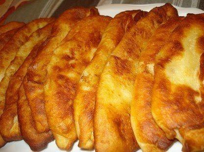Тонкие пирожки с картошкой. | Про рецептики - лучшие кулинарные рецепты для Вас!