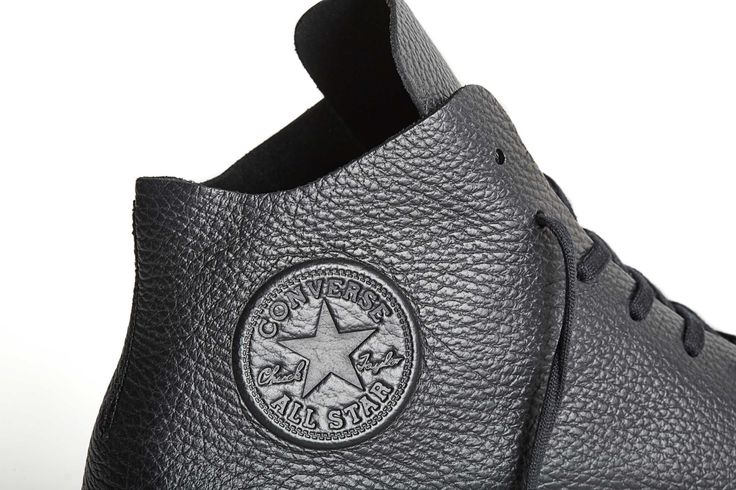 Converse's Prime Star Collection refines the Chuck Taylor with tumbled leather.