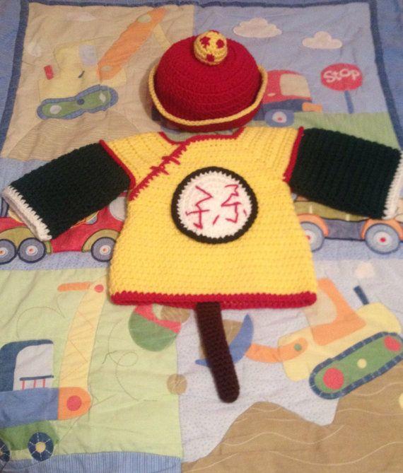 Juego de Gohan con lindo bebé perfecto para vestir a su bebé. Se puede utilizar como un traje o un accesorio de la foto. O simplemente para mostrar que eres un gran fan DBZ. Todo lo que tienes que hacer es elegir el tamaño del sombrero. Órdenes de encargo disponibles a petición.