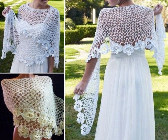 Crochet Shawl Will Become A New Favourite Piece | The WHOot