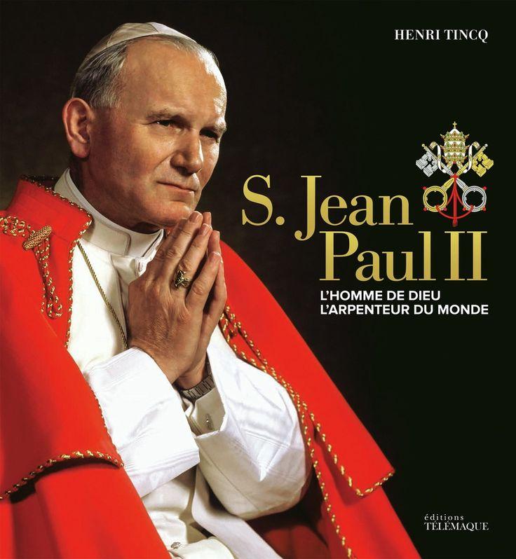 S. Jean-Paul II - L'homme de Dieu, l'arpenteur du monde -   Henri Tincq - 70 pages, Couverture rigide. Photos en noir et blanc et en couleurs. Fac-similés. - Référence : 158642 #Livre #Biographie #Témoignage #book #Cadeau #Lecture