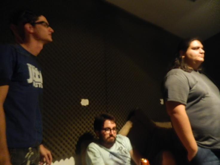 Pedro Zaluba, Gabriel Brabo e Carmino Petrone