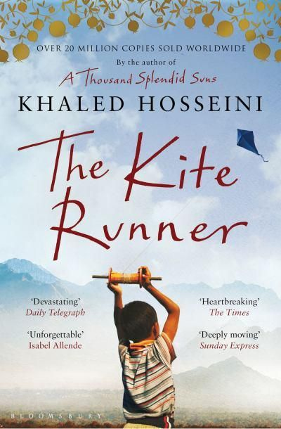 """The Kite Runner, Khaled Hosseini.  """"There are a lot of children in Afghanistan, but little childhood."""""""