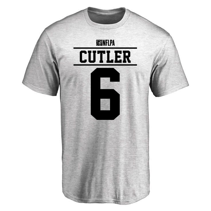 Jay Cutler Player Issued T-Shirt - Ash - $25.95