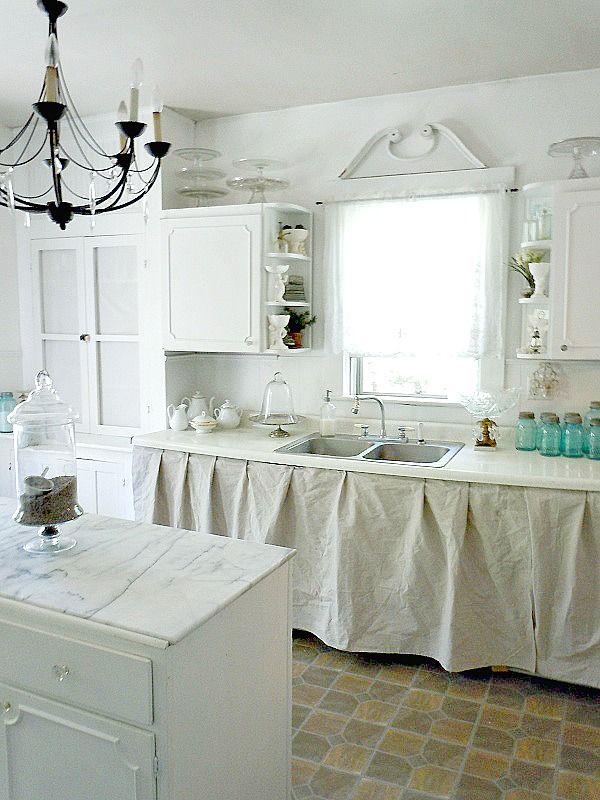 496 best Shabby chic kitchens images on Pinterest ...