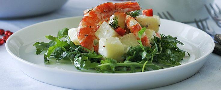 Tiger Prawn & Potato Salad