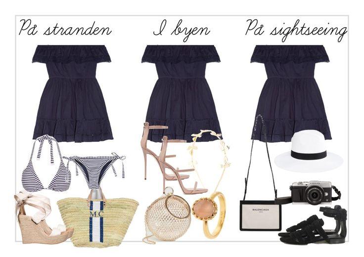 Key item: 1 kjole, 3 feriescenarier