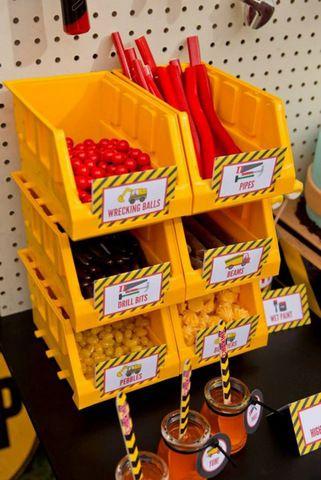 Wooloo   Idées pour une fête sous le thème des camions