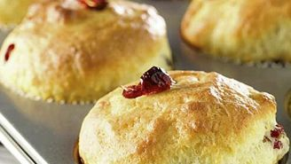 Muffins - canneberges - collations santé pour l' école