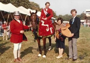 Buddy Brown with a legacy bridle