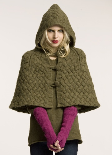 Cloaks Pagan Wicca Witch:  Short, hooded #cloak.