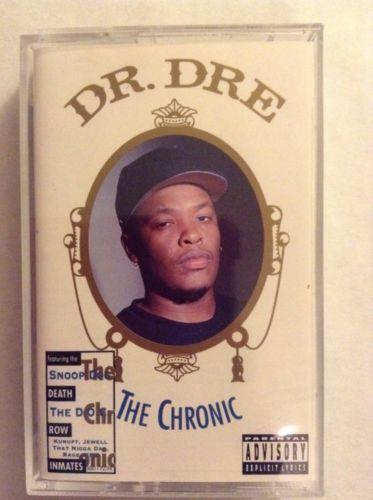 DR. DRE THE CHRONIC Cassette Tape West Coast Gansta Rap Hip Hop G Sound