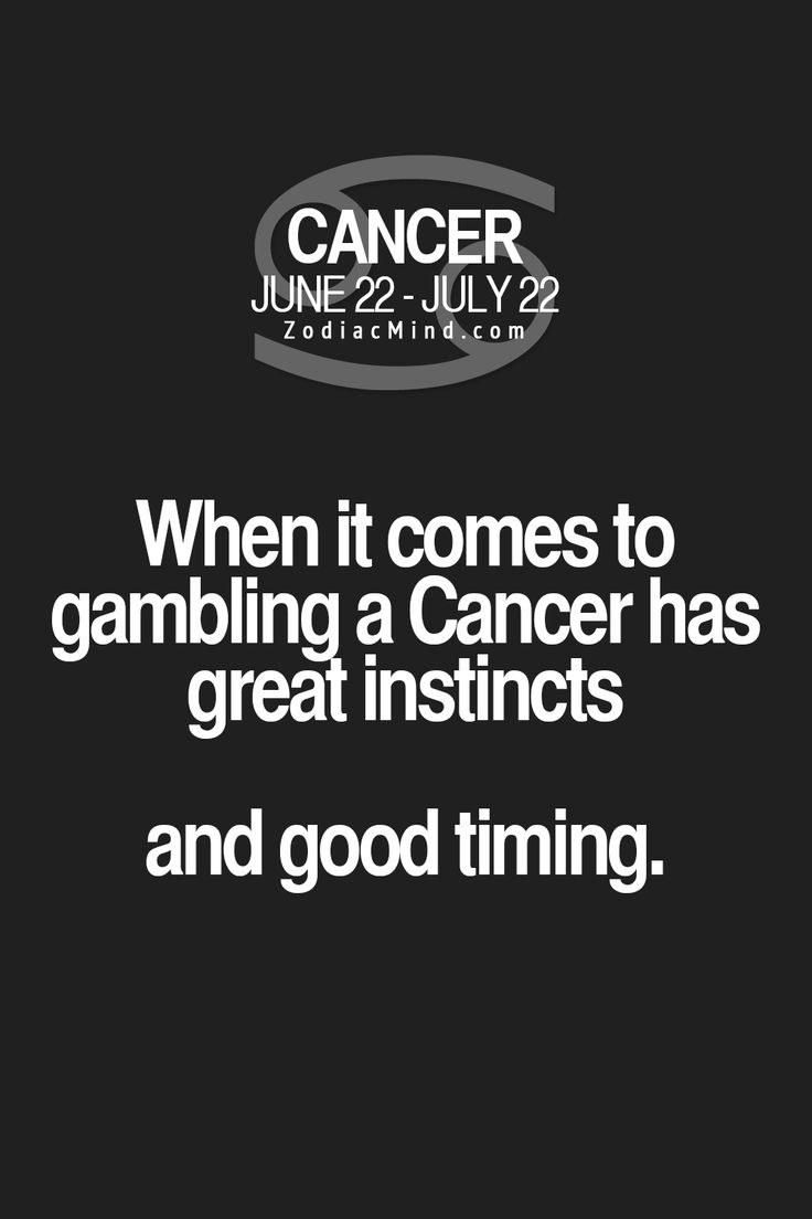 Gambling horoscope for cancer how does money line work with gambling