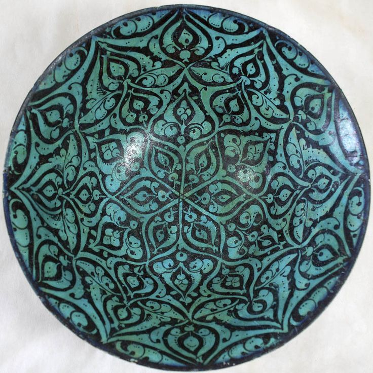 Bowl, early 13th century (Seljuq Period, 1037–1196)