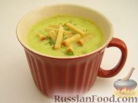 Фото к рецепту: Пряный крем-суп из кабачков