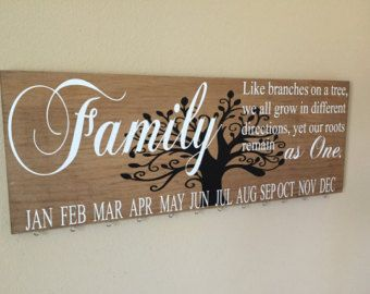 Family Birthday Board Celebration by SplendidExpressions on Etsy