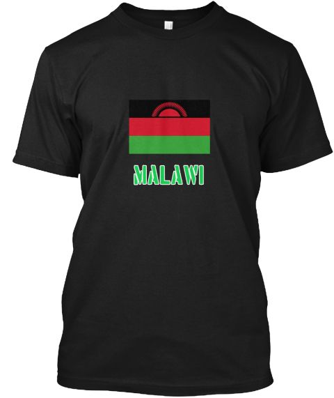 Malawi Flag Stencil Green Design Black T-Shirt Front - This is the perfect gift for someone who loves Malawi. Thank you for visiting my page (Related terms: I Heart Malawi,Malawi,Malawian,Malawi Travel,I Love My Country,Malawi Flag, Malawi Map,Malawi Langua #Malawi, #Malawishirts...)