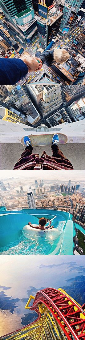 Robert Jahns, creates stunning photo manipulations for his Instagram account by only using photo editing apps on his phone.