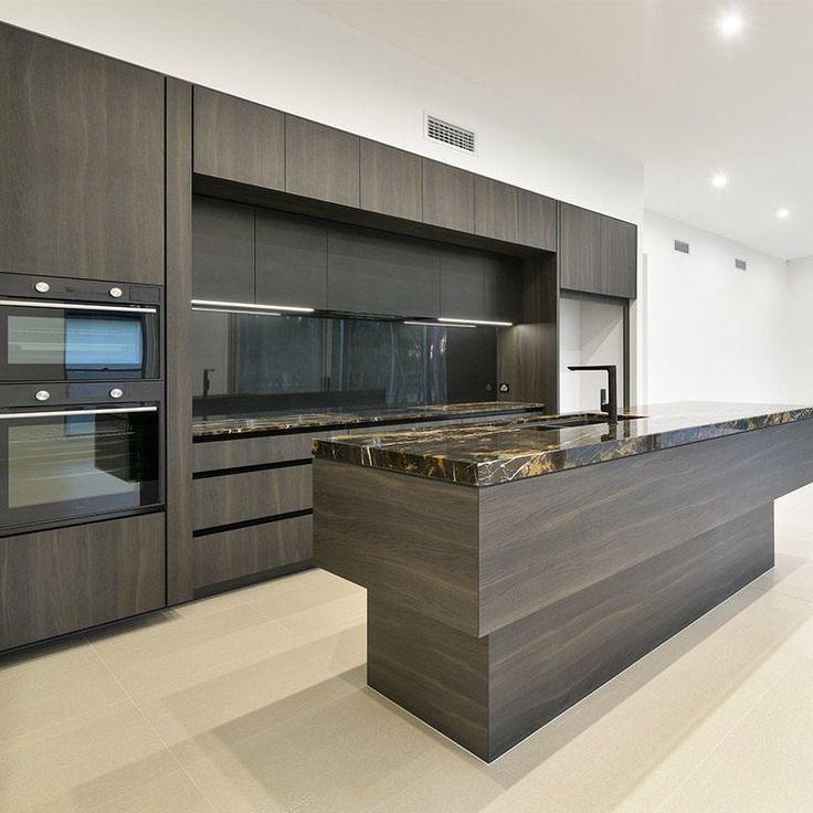 Best Project Brookwater Display Home Modern Kitchen Design 400 x 300