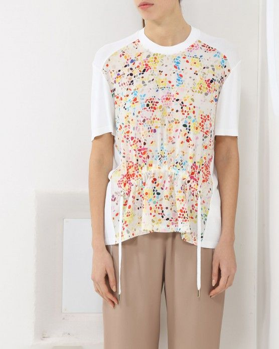 Get office ready this sophisticated T-shirt by Iceberg