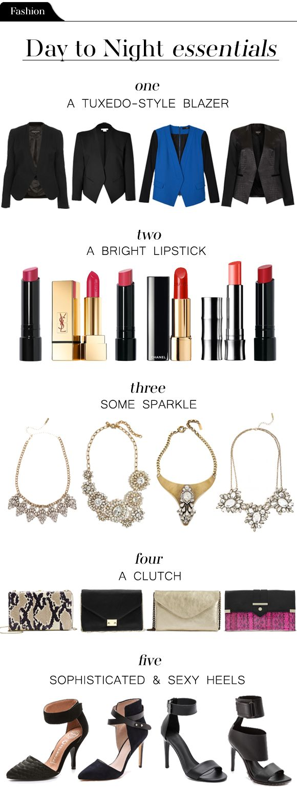 The five elements you need to go from day to night in a pinch.