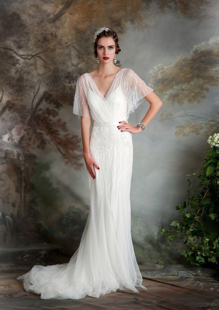 Best 25 Art Deco Wedding Dress Ideas On Pinterest
