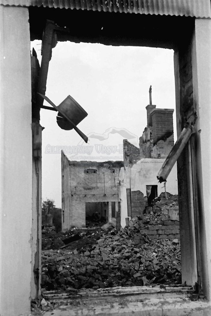 B67.Storojinet.Flondoreni.OrasulStorojinet.Ruinen.24. Juli 1941.Fotograf Willy Pragher1