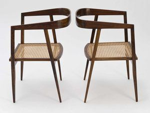 Armchairs By Joaquim Tenreiro. Find This Pin And More On Brazilian Mid  Century Modern ...
