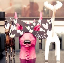 Natalie Joos, LanvinOffices Design, Design Work, Work Spaces, Decor Offices, Fleas Marketing, Work Design, Lanvin Masks, Animal Masks, Natalie Drink